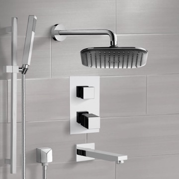 Tub and Shower Faucet, Remer TSR9404