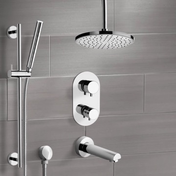 Tub and Shower Faucet, Remer TSR9405