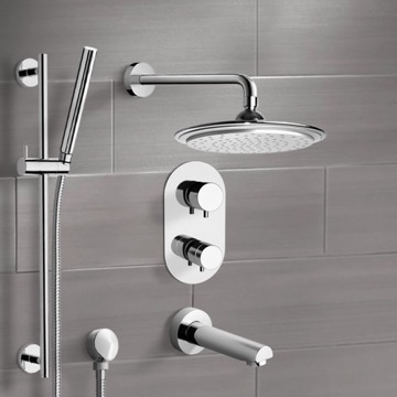Tub and Shower Faucet, Remer TSR9407