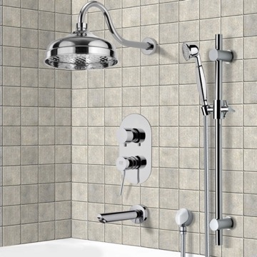 Tub and Shower Faucet, Remer TSR9526