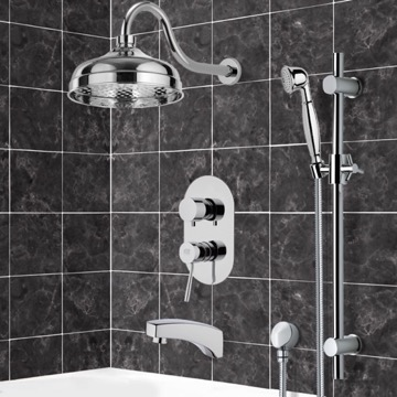 Tub and Shower Faucet, Remer TSR9527