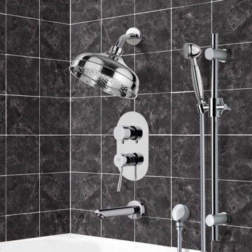 Tub and Shower Faucet, Remer TSR9528