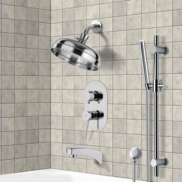 Tub and Shower Faucet, Remer TSR9529