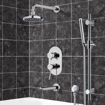 Tub and Shower Faucet, Remer TSR9531