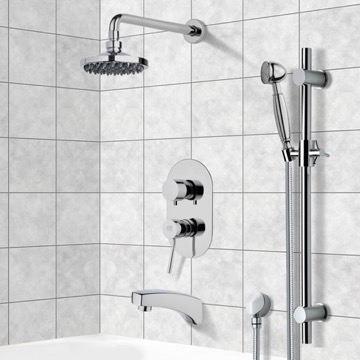 Tub and Shower Faucet, Remer TSR9532