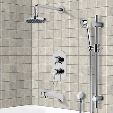 Tub and Shower Faucet, Remer TSR9533