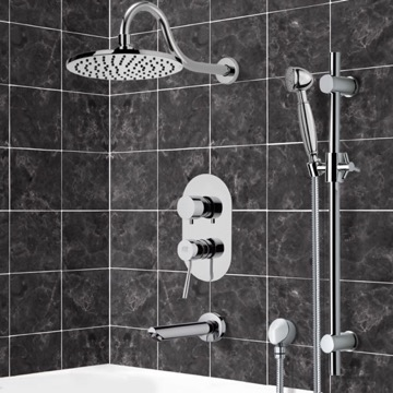 Tub and Shower Faucet, Remer TSR9534
