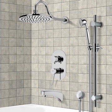 Tub and Shower Faucet, Remer TSR9535