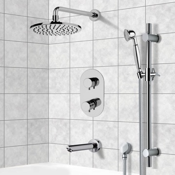 Tub and Shower Faucet, Remer TSR9537