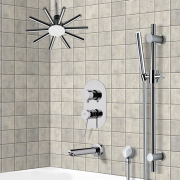 Tub and Shower Faucet, Remer TSR9540