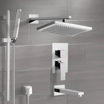 Tub and Shower Faucet, Remer TSR9544