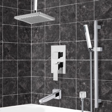 Tub and Shower Faucet, Remer TSR9546