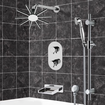 Tub and Shower Faucet, Remer TSR9547