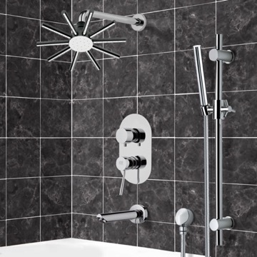 Tub and Shower Faucet, Remer TSR9548