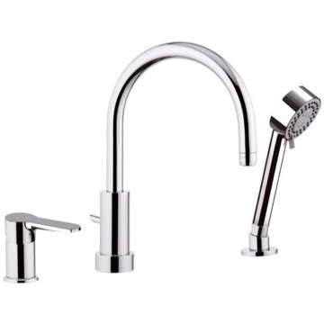 Roman Bathtub Faucet with Hand Shower