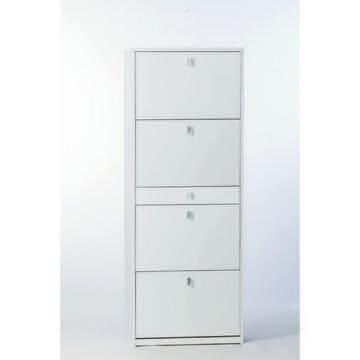 Shoe Rack, Sarmog A569-White Ash