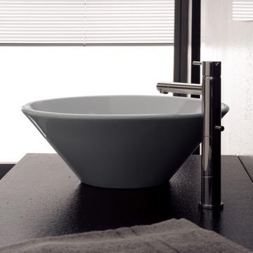 Bathroom Sink, Scarabeo 8010