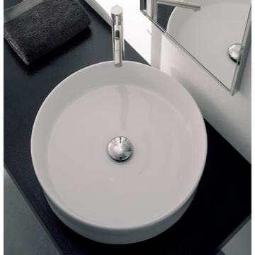 Bathroom Sink, Scarabeo 8029