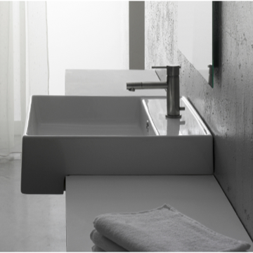Bathroom Sink, Scarabeo 8031/D