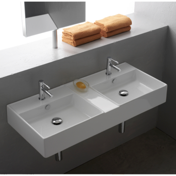 Bathroom Sink, Scarabeo 8035