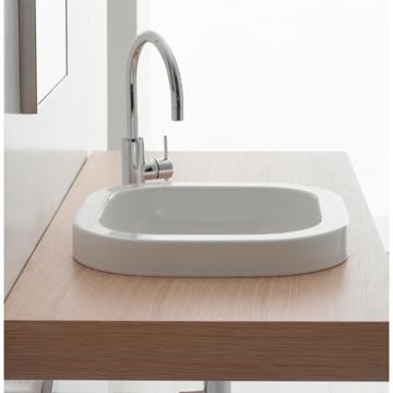 Bathroom Sink, Scarabeo 8047/A