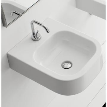 Bathroom Sink, Scarabeo 8047/B