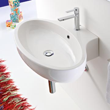 Bathroom Sink, Scarabeo 8109