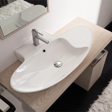 Bathroom Sink, Scarabeo 8200