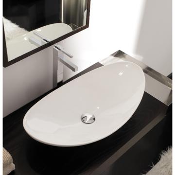 Bathroom Sink, Scarabeo 8206