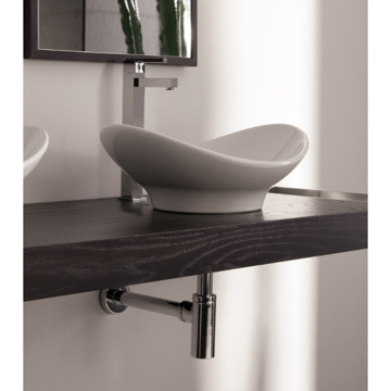 Bathroom Sink, Scarabeo 8207