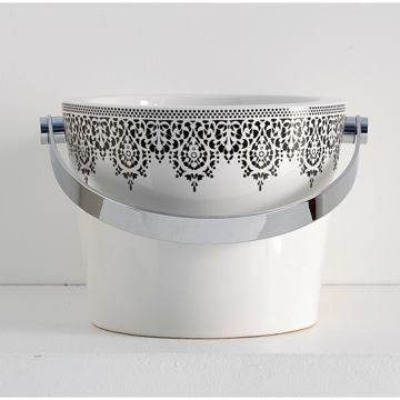 Decorative Ceramic Bathroom Bucket Sink