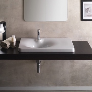 Bathroom Sink, Scarabeo 6014