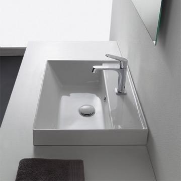 Bathroom Sink, Scarabeo 5108