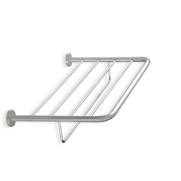Bathroom Shelf Wall Mounted Satin Nickel Towel Rack 786-36 StilHaus 786-36
