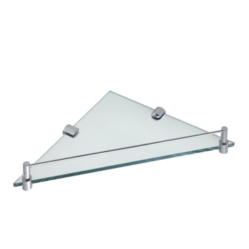 Wall Mounted Glass Bathroom Shelf