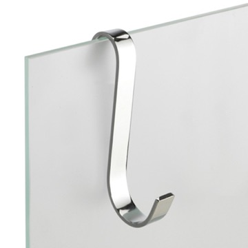 Small Chrome Brass Bathroom Hook