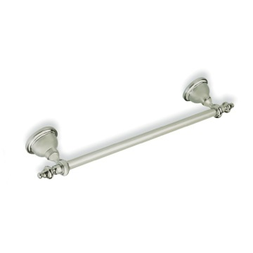 Satin Nickel 20 Inch Classic Style Towel Bar