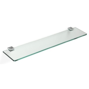 24 Inch Glass Bathroom Shelf
