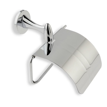 Toilet Paper Holder, Contemporary, Chrome, Brass, StilHaus Holiday, StilHaus H11C-08