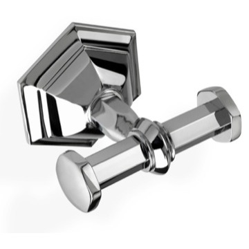 Luxury Wall Mounted Double Bathroom Hook in Multiple Finishes