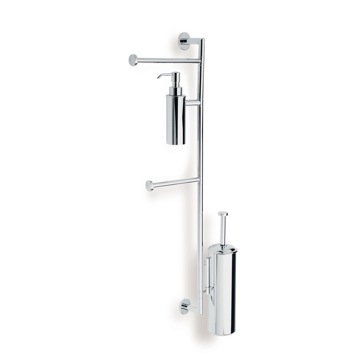 Bathroom Butler, Contemporary, Chrome,Brushed Nickel, null, StilHaus Medea, StilHaus ME25