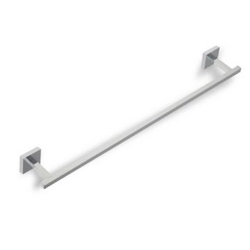 Towel Bar Square 24 Inch Chrome or Satin Nickel Towel Bar U05 StilHaus U05