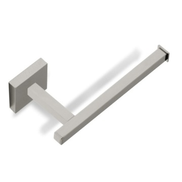 Square Satin Nickel Toilet Paper Holder