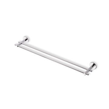 Double Towel Bar 24 Inch Double Towel Bar Made in Brass VE05.2 StilHaus VE05.2