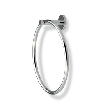 Round Chrome Towel Ring
