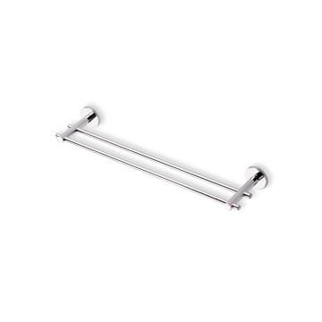 Chrome 18 Inch Double Towel Bar Made In Br