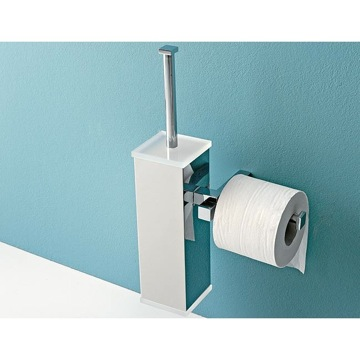 Toilet Brush Wall Mounted Toilet Brush Holder with Toilet Roll Holder 4526 Toscanaluce 4526