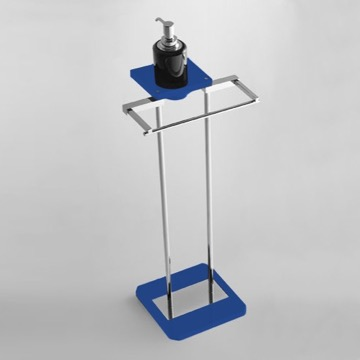 Free Standing Bathroom Butler with Plexiglass Base
