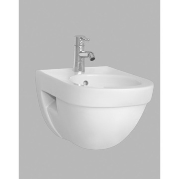 Modern Round White Ceramic Bathroom Bidet