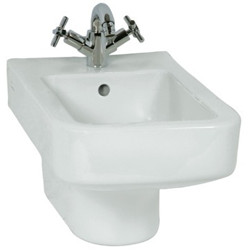 High-end Contemporary Square Ceramic Wall Hung Bidet